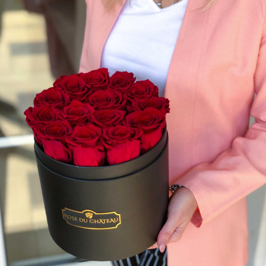 czerwone róże wieczne