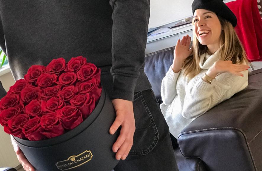 Kwiaty na Walentynki: róże w bukietach walentynkowych na prezent