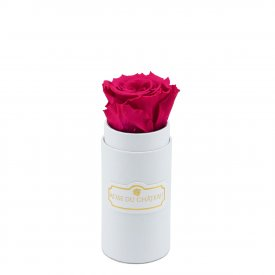 PINK ETERNITY ROSE & WHITE MINI FLOWERBOX